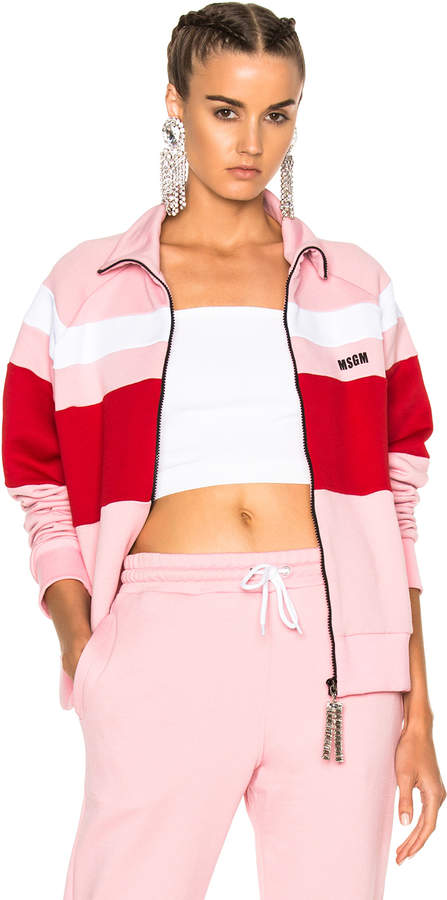 What to wear when you work from home: MSGM Track Jacket #vibealchemist
