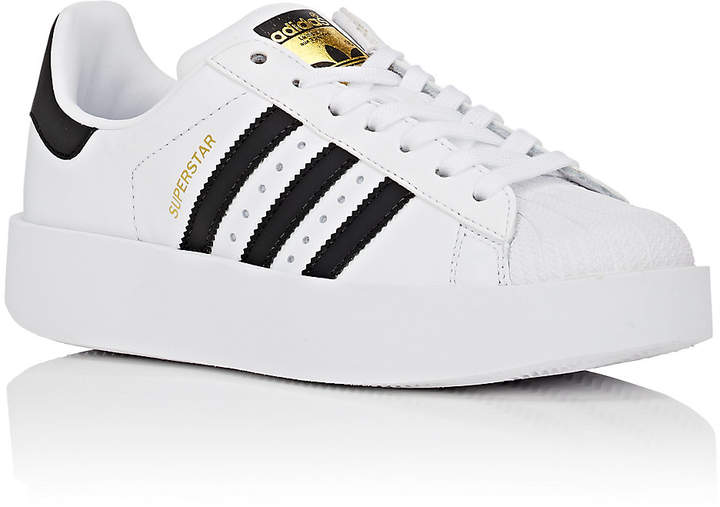What to wear when you work from home: adidas Women's Superstar Bold Leather Sneakers #vibealchemist