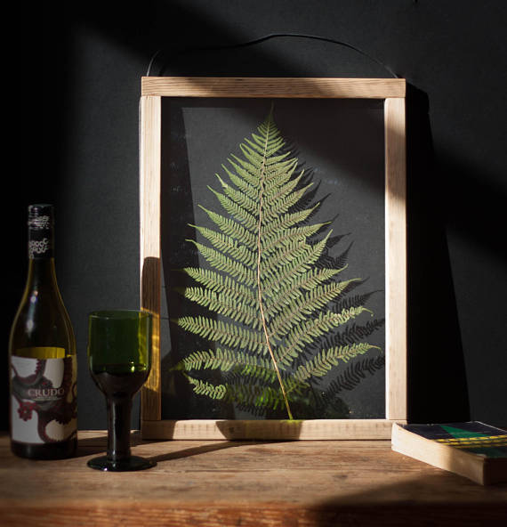 Plantspiration - for plant lovers: Featuring this Forest Fern Botanical Art from EmeraldRabbitStore on #VibeAlchemist www.vibealchemist.com #botanical