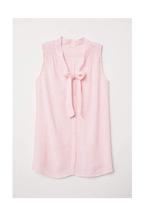 clothing companies that support worthy causes: H&M - MAMA Blouse with Ties
