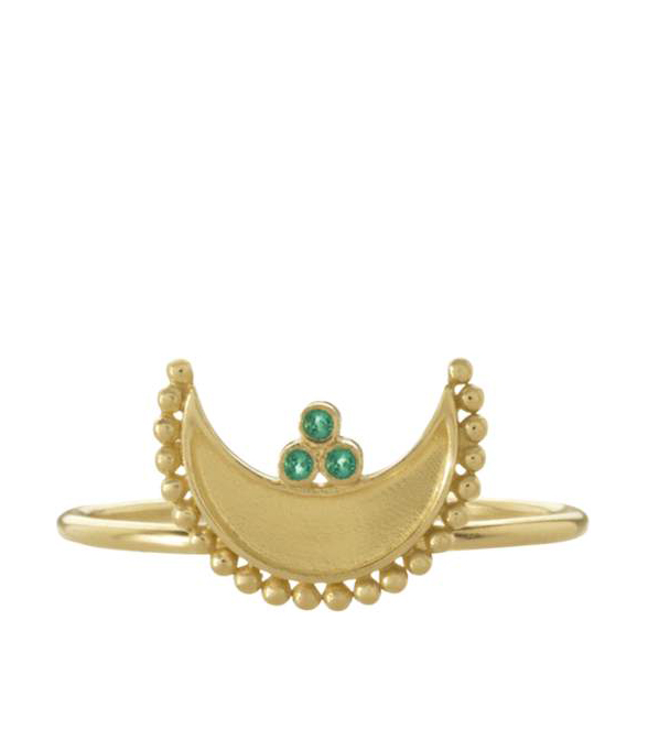 clothing companies that support worthy causes: Legend Amrapali Heritage Crescent Ring