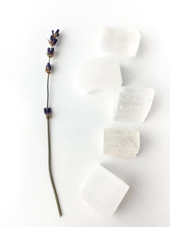 Gift Guide for Crystal Lovers: Pocket Selenite Cubes