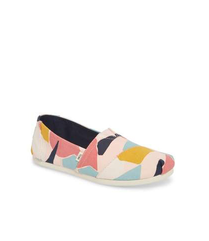 clothing companies that support worthy causes: TOMS Alpargata Slip-On Sneaker