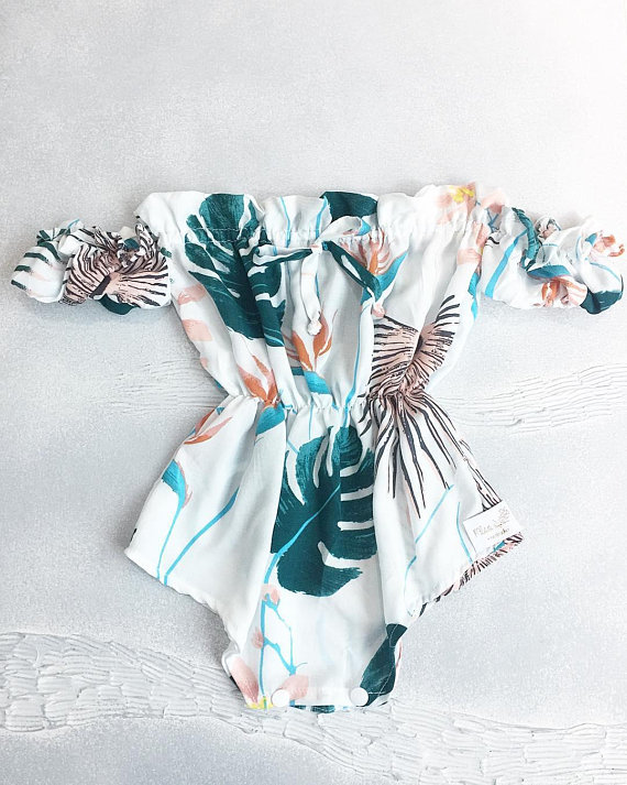 Plantspiration - for plant lovers: Featuring this Tropical Romper from MissLylaBoutique on #VibeAlchemist www.vibealchemist.com #tropical