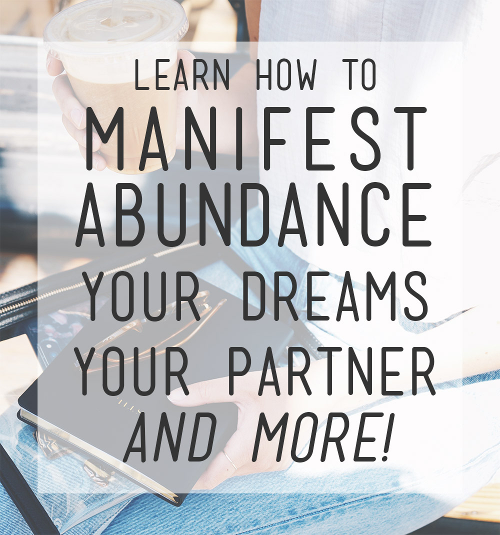 Learn how to manifest with these books! If you want to learn how to manifest abundance, love, your dreams and more, you need to check out this list! #manifesting #howtomanifest #LOA #lawofattraction #woowoo