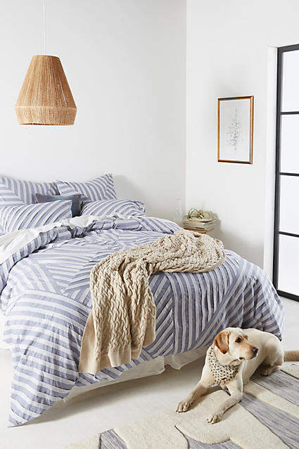 Bedroom decor ideas: Anthropologie Ansene Duvet Cover