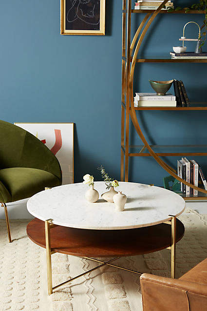 living room inspiration: Anthropologie Elemental Coffee Table