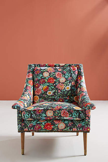 Prettiest Anthropologie Chairs: Anthropologie Emma-Printed Tillie Chair