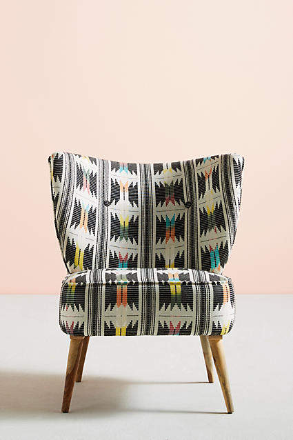 Prettiest Anthropologie Chairs: Anthropologie Flutura Accent Chair