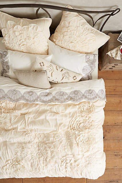 Bedroom decor ideas: Anthropologie Georgina Duvet Cover