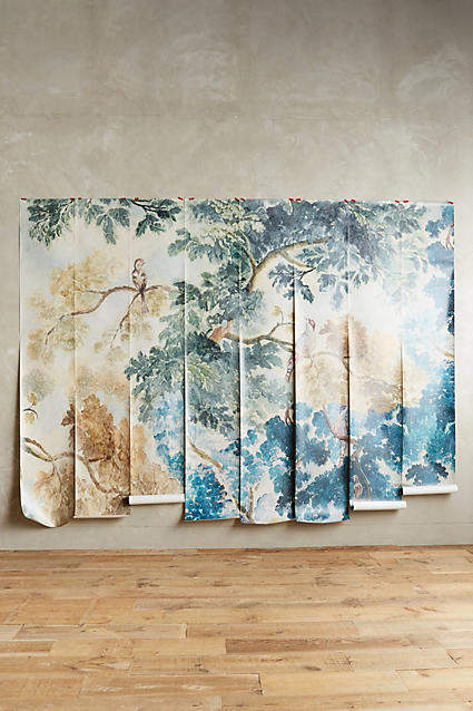 my anthropologie wall art favorites: Anthropologie Judarn Mural