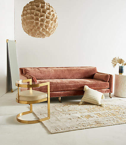 living room inspiration: Anthropologie Leonelle Sofa
