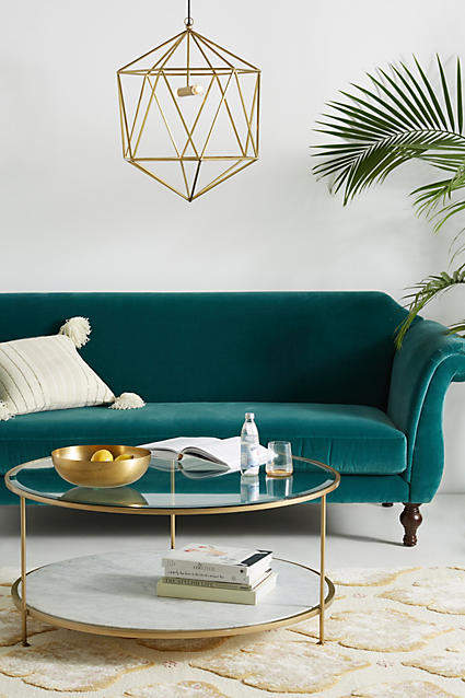 living room inspiration: Anthropologie Milne Coffee Table