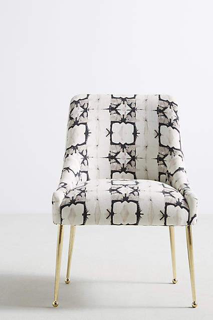 Prettiest Anthropologie Chairs: Anthropologie Minara-Printed Elowen Chair