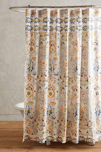 Anthropologie Orissa Shower Curtain