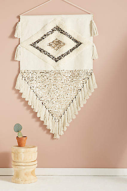 my anthropologie wall art favorites: Anthropologie Ulla Embroidered Wall Art
