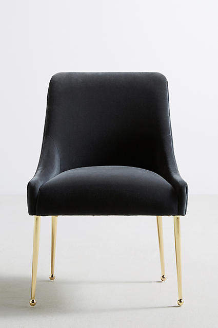 Prettiest Anthropologie Chairs: Anthropologie Velvet Elowen Chair