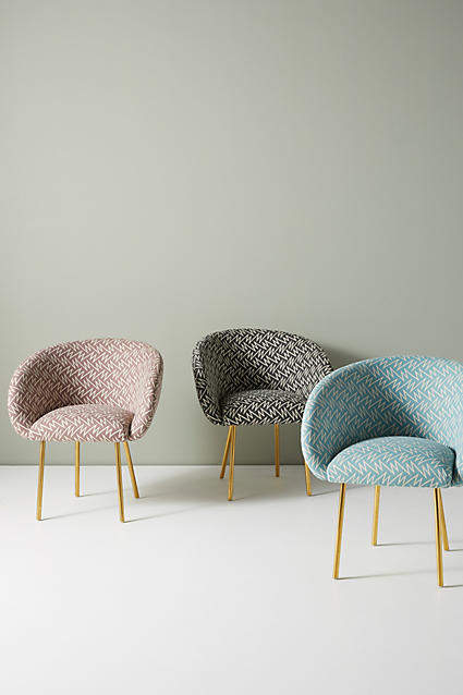 Prettiest Anthropologie Chairs: Bethan Gray for Anthropologie Strike Collection Dining Chair