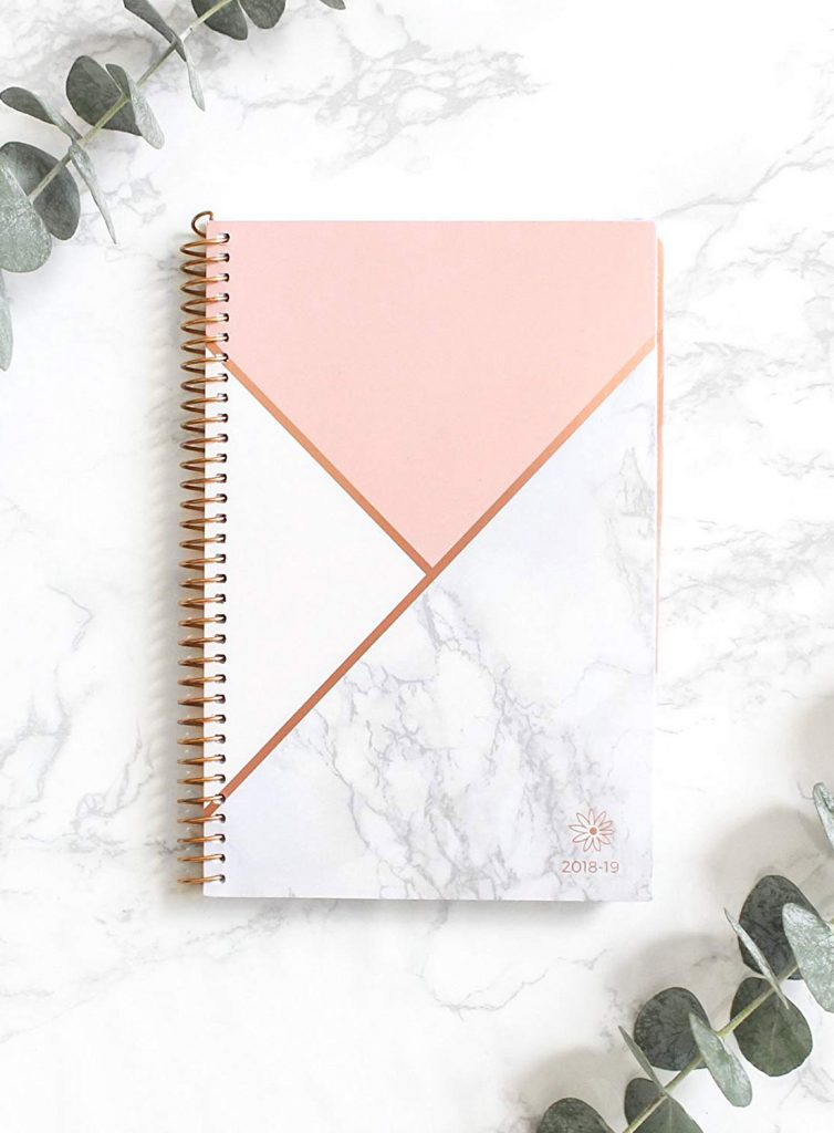 Gifts for Virgos: Get them this Bloom Daily Planners 2018-2019 Academic Year Day Planner - Monthly and Weekly Calendar Book! #giftsforvirgos #virgos #virgogifts
